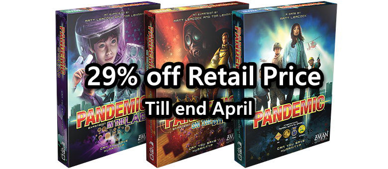 Get up to 29% off PANDEMIC (COVID19 Promo)