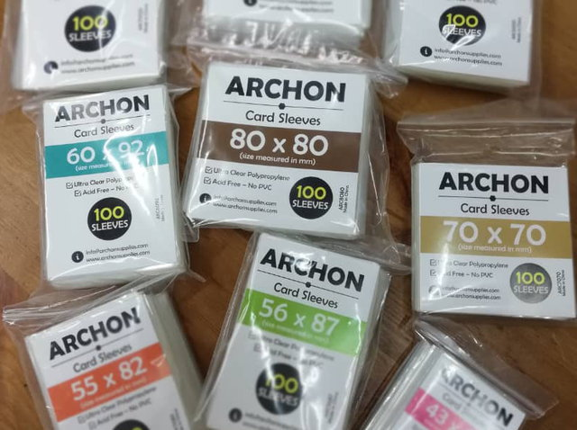 Archon card sleeves