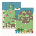 Age of Steam Deluxe Reprinted Maps