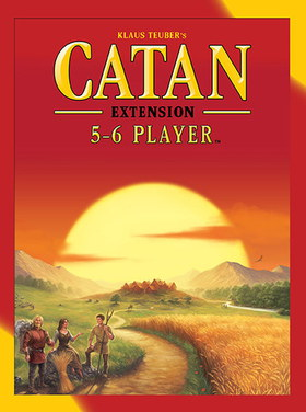 Catan: 5-6 Player Ext (5th Ed)