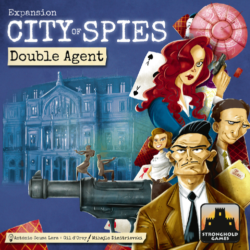 City of Spies XP: Double Agents