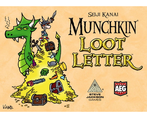 Munchkin Loot Letter (Box Edition)