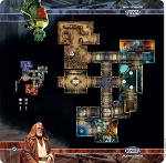 Star Wars: Imperial Assault -Anchorhead Cantina Skirmish Map