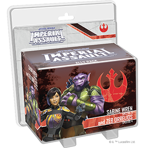 Star Wars: Imperial Assault - Sabine Wren and Zeb Orrelios Ally