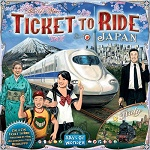 Ticket to Ride Maps 7: Japan & Italy