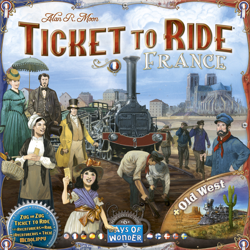 Ticket to Ride Maps 6: France & Old West