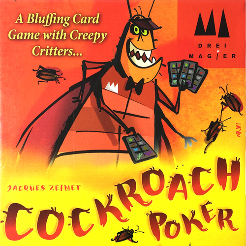 Cockroach Poker (2017 Ed)