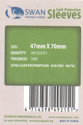 Sleeves 47x70mm (Thin)