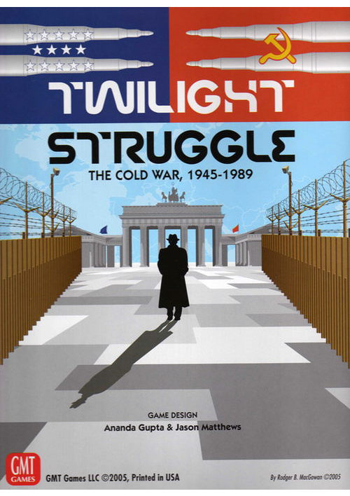 Twilight Struggle: The Cold War 1945-1989 (Deluxe Edition)