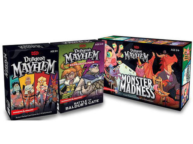 More Mayhem - the complete Dungeon Mayhem collection