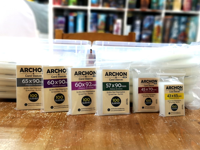 Get a free pack of sleeves (worth RM12) during our Intro Month for the Archon Lite series in Oct