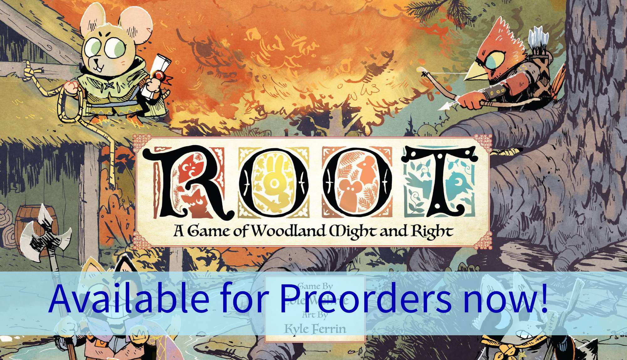 ROOT up for preorders now